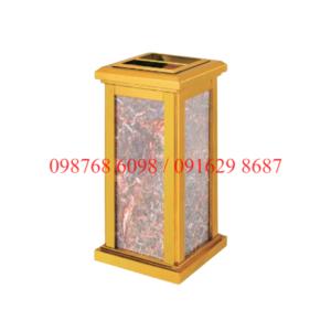 thùng rác inox đá hoa cương A-31A giá rẻ ở hà nội