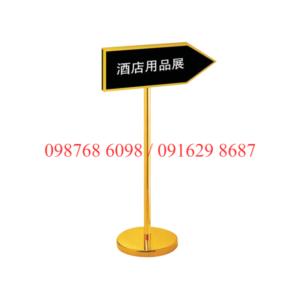 bảng menu thông báo B29 hình mũi tên giá rẻ